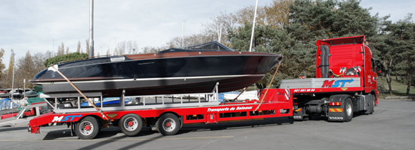 Transport de bateau par route prix
