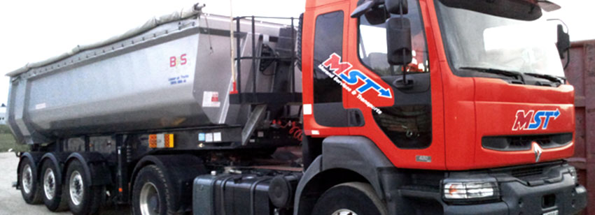 Camion transport chantier 2